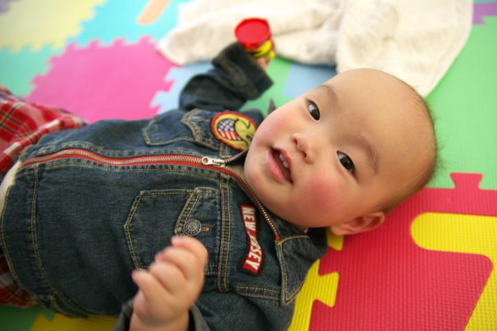 赤ちゃん(幼児・未満児)の写真