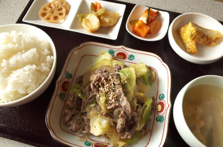 韓国家庭料理 ミョンドン(伊那市)の料理の写真とか