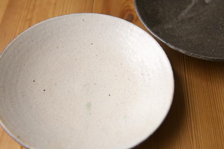 信楽のお皿(野恵)