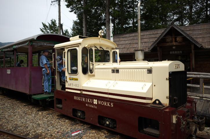 赤沢森林鉄道(赤沢自然休養林)