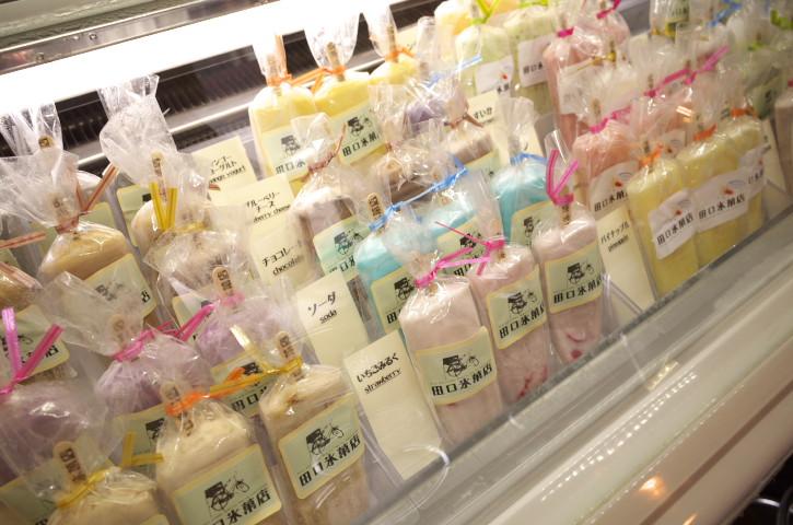 田口氷菓店(木曽郡木曽町)の料理の写真とか