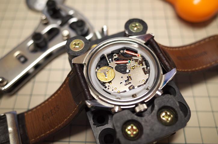 腕時計の電池交換工具