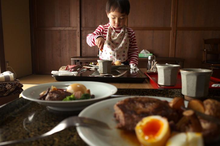 ざんざ亭(伊那市長谷;ジビエ料理)の料理の写真とか
