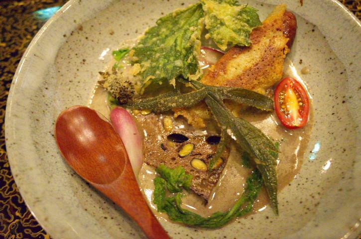 ざんざ亭(伊那市長谷)の料理の写真とか
